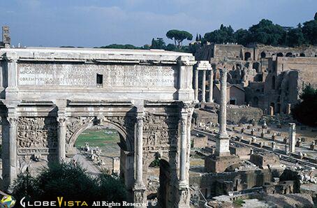Triumphal Arch of Septimus Severus